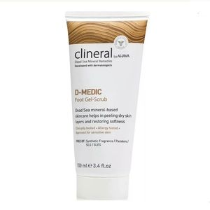 CLINERAL by AHAVA D-Medic Foot Gel-Scrub